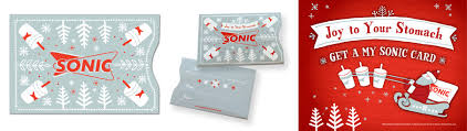 sonic gift cards illustration ai carver