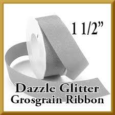 glitter ribbon wholesale wholesale dazzle glitter grosgrain ribbon 1 1 2 40 colors by the roll