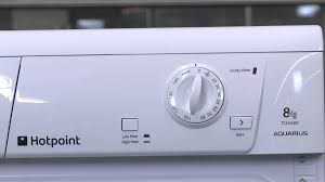 hotpoint tcm 580p tumble dryer youtube