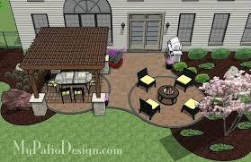 Patio Plans And Designs Backyard Patio Design Plans Ideas Patio Designs Outdoor Patio