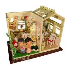 miniature dollhouse kitchen furniture ph001 dollhouse kitchen furniture send dolls dust cover lights