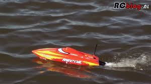 Radio Control Model Boat Magazine Pro Boat Recoil 17 Deep V Brushless Rtr Video Review Nl Youtube