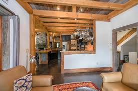 Keeping Room by White Oak Timber Frame Home Crafted By Moresun
