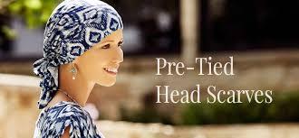 pre chemo pre tied head scarves cancer chemo scarf headcovers