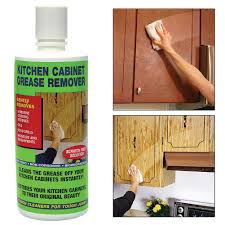 kitchen cabinet degreaser cleans grease removes residue non