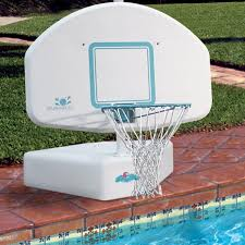 Swimming Pool Furniture by Furniture White Backboard Portable Basketball Hoop For Swimming