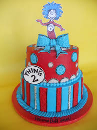 dr seuss cakes dr seuss thing 2 baby shower cake stella flickr