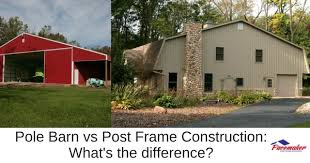 The Pole Barn Pole Barn Vs Post Frame Construction What U0027s The Difference