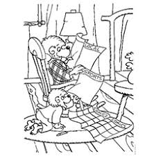 25 free printable berenstain bears coloring pages