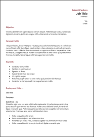 Resume Types Examples by What Font And Size Should A Resume Be Free Resume Example And