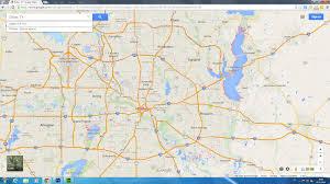 Texas Cities Map Dallas Texas Map