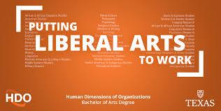 hdo bachelor of arts degree human dimensions of organizations