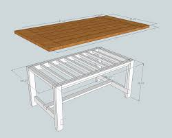 free plans for a rustic farmhouse table a lesson learned