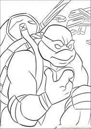 donatello ninja turtle coloring pages