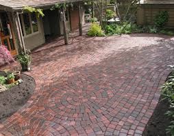 Patio Paver Kits Appian Classic Patio With Circle Kits Landscape East West