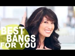 best hair cut for 50 plus women hart shape face the perfect bangs for your face shape youtube