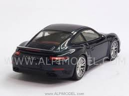 porsche dark blue metallic minichamps 410062220 porsche 911 turbo s 2013 dark blue metallic 1 43