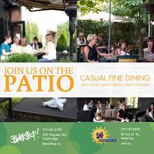Backyard Bar And Grill Chantilly by Blackshop Restaurant Home Cambridge Ontario Menu Prices