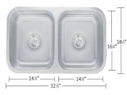 How To Measure For Kitchen Sink by Standard Double Sink Size Kitchen U2022 Kitchen Sink