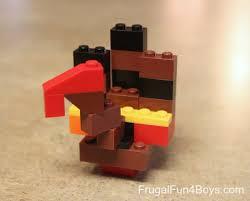 thanksgiving legos build a lego turkey