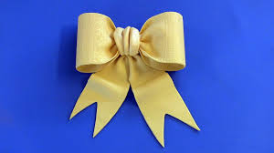 fondant bow tutorial bow tie style youtube