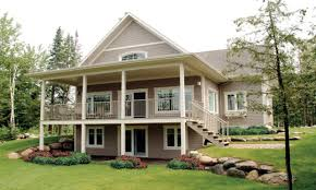 craftsman house plans with walkout basement baby nursery lake house plans walkout basement house plans with