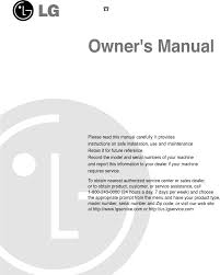 Lg Dishwasher 3850dd3006a Lg Electronics Dishwasher Ldf7810st User Guide Manualsonline Com