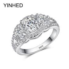 top wedding rings images 90 off yinhed 100 925 sterling silver wedding rings for women jpg