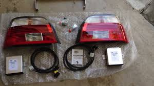 e38 euro tail lights bmw e39 hella celis led tail light upgrade installation youtube