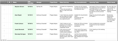 weekly progress report template project management shark europe eu at a glance weekly project status report