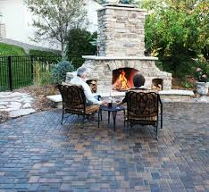 Paver Patios With Fire Pit by Images About Driveway Entrance On Pinterest Landscaping And