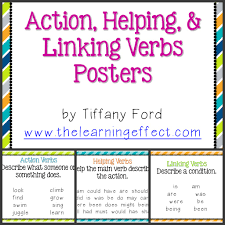 Fourth Grade Language Arts Worksheets Linking Verbs Helping And Linking Verbs Download Them For