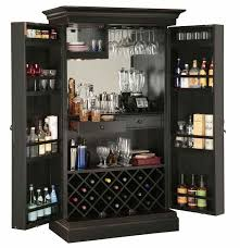 Bar Cabinet With Wine Cooler 695 142 Sambuca Wine And Bar Cabinet The Clock Depot