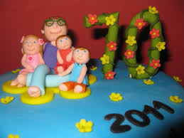 70th birthday cake ideas for grandma 107544 custom cake to