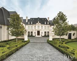a french neoclassical style residence in dallas luxeworthy