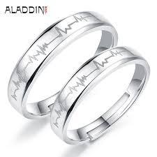 Name Rings Silver Aliexpress Com Buy Aladdin Engagement Custom Name Ring Handmade