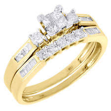 engagement and wedding ring set engagement wedding ring sets ebay
