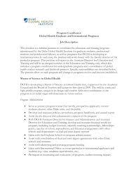 sample cover letter for program coordinator guamreview com