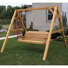 porch swing frame frame decorations