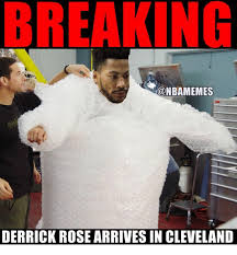 D Rose Memes - nbamemes derrick rose arrives in cleveland derrick rose meme on