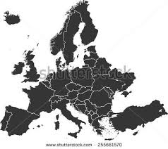 vector map vector maps of europe