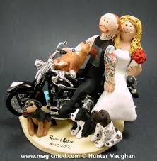harley davidson wedding cake toppers harley davidson wedding cake toppers