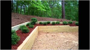 backyard wood retaining wall ideas backyard fence ideas