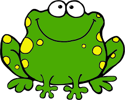 free cute frog clipart image 4104 cartoon frog on a lily pad