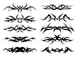 tribal band tattoos design for
