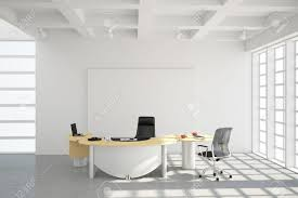 modern office loft style with big windows stock photo picture and