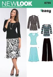 Sewing Patterns For Home Decor Create A Comfortable Wardrobe With New Look Sewing Pattern 6735