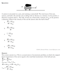 learn ap physics physics c momentum