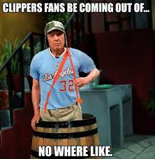 Clippers Meme - nba meme team on twitter clippers fans outta nowhere http t