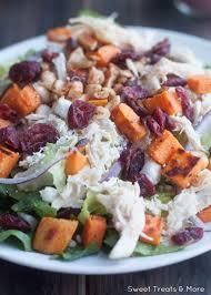 thanksgiving salad with cranberry poppy seed vinaigrette boys ahoy